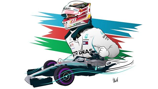 ¿Quién será el campeón de la F1 en la temporada 2021? Si tuviera que seleccionar colocaría en el auto un sticker plateado, con el 44 de Lewis Hamilton.