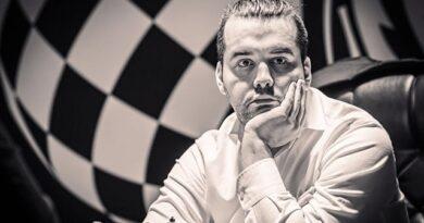 El GM ruso Ian Nepomniachtchi se convirtió en el retador del campeón mundial de ajedrez Magnus Carlsen, al ganar el Torneo de Candidatos, con una ronda de anticipación. Foto: Tomada del sitio oficial del evento.