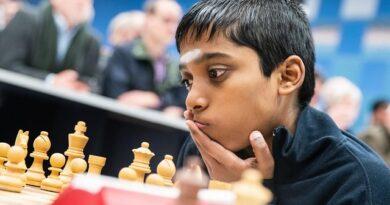 A sus 15 años, el GM indio R. Praggnanandhaa fue la sensación del primer día del torneo New in Chess Classic, quinta parada del Champions Chess Tour