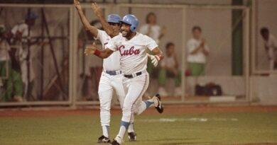 Víctor Mesa fue el líder de bateo de Barcelona y entró en la historia del béisbol en Juegos Olímpicos.