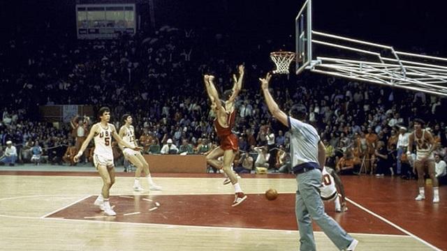 La final del baloncesto, en la cita de Múnich 1972, fue muy polémica