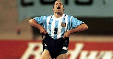 El argentino Martín Palermo falló tres penales en un mismo juego y entró en la historia de la Copa América de fútbol.