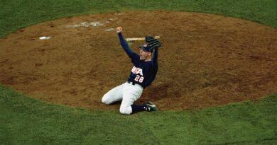 Ben Sheets propinó lechada de 4-0 a Cuba en la final del béisbol de los Juegos Olímpicos de Sídney 2000.