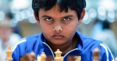 Abhimanyu Mishra se convirtió en el Gran Maestro más joven de todos los tiempos, a sus 12 años, cuatro meses y 125 días. Fpto: Chess24.
