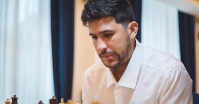 El GM Yasser Quesada superó al argentino Krysa y avanzó a la segunda ronda de la Copa Mundial de la FIDE. Foto: tomada del Flick del evento.
