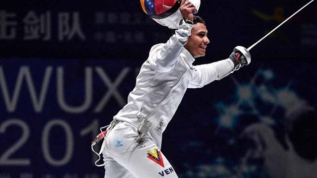 El esgrimista Rubén Limardo ha sido uno de los mejores atletas venezolanos en Juegos Olímpicos