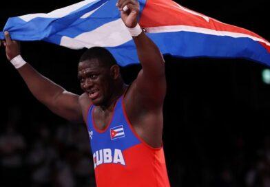 El cubano Mijaín López fue de los atletas latinoamericanos que más impresionaron en los Juegos Olímpicos de Tokio 2020