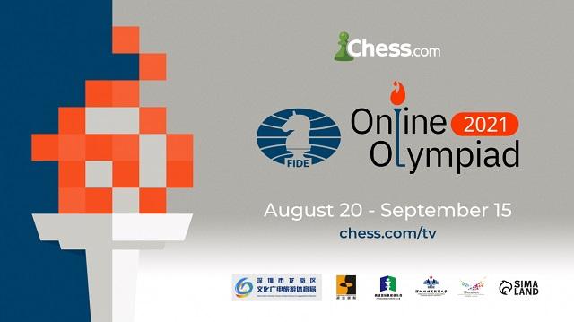 El equipo cubano que interviene en la Olimpiada online de ajedrez 2021 logró 3 victorias en sus matches ante Costa Rica, El Salvador y Bolivia