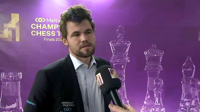 Cuando solo se han jugado 2 de las 9 rondas de las Finales del Champions Chess Tour, ya todo parece decicido: Magnus Carlsen será el campeón