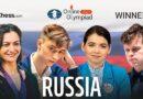 La fortísima selección de Rusia ganó la Olimpiada online de ajedrez 2021, tras superar a Estados Unidos, en los dos matches de la gran final